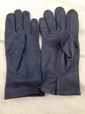 German Army Luftwaffe Grey Leather Gloves
