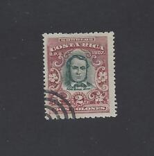 COSTA RICA (G550) JUAN RAFAEL MORA Sc 68 USED 1907
