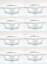 Solar Post Deck Cap Light 4x4 White Low Profile 4 SMD LEDs (8 Pack) PL251