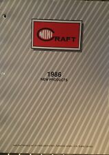 MINICRAFT 1986 NEW PRODUCTS CATALOG OF PLASTIC MODEL KITS