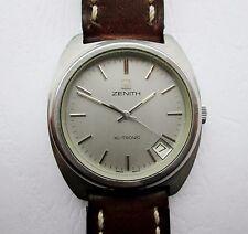Zenith XL-Tronic Vintage Mano-cuerda mecánico tanto y electrónicos Reloj para hombres