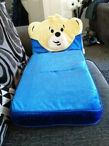 Build a Bear Chair/sofa Bed Blue