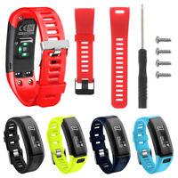 1pc Sport-Silikon-Uhrenarmband mit Werkzeugen für Garmin Vivosmart HR Neu