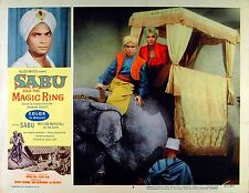 SABU AND THE MAGIC RING 1957 SABU Elephant Howdah LOBBY CARD #4