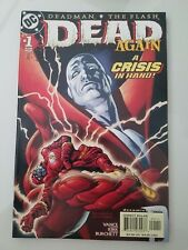DEAD AGAIN #1-5 (2001) DC COMICS FULL COMPLETE SERIES! DEADMAN! FLASH! BATMAN!+