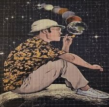 Original Gonzo Fear & Loathing In Space perforated BLOTTER ART psychedelic art