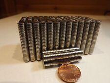 25 Strong Rare Earth Neodymium Disc Magnet 6 x 1.5mm (1/4 x 1/16 inch) USA SHIP