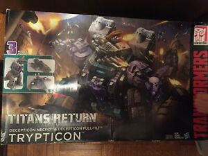 Transformers Generations Trypticon Titans Return NEW factory sealed