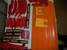 Vintage red line Hot Wheels track with accessories, NO RESERVE!