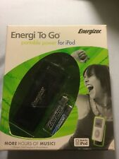 New Energizer Energi To Go Portable Power for iPod