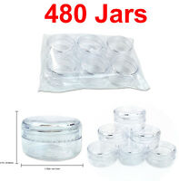 480 Pieces 15 Gram/15ML High Quality Lotion Cream Cosmetic Sample Jar Containers
