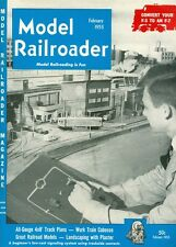 1953 Model Railroader Magazine: Jim Frost/Convert Your F-3 to an F-7/Caboose