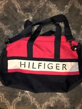 Tommy Hilfiger Duffel Gym Bag (Pink) Travel Adjustable Strap
