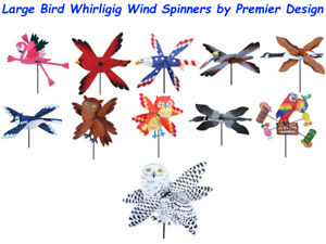 Large Bird Whirligig Wind Spinners by Premier