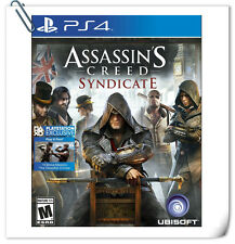 PS4 Assassin's Creed Syndicate AC SONY PlayStation Action Games Ubisoft