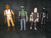 Vintage Star Wars Boba Fett Bounty Hunters Bossk