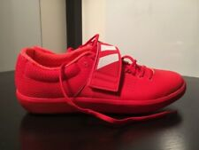 New Adidas Adizero Rio Shotput 2 Discus Hammer Track Shoe Red BB4118 Sz 12