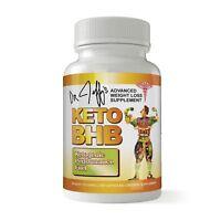 Keto Diet BHB Weight Loss Ketosis 60 Caps Fat Burn Advanced Elite Free Shipping
