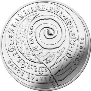 "Lithuania 1,50€ euro coin 2018 ""Jonines - Rasos"" UNC"