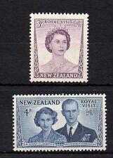 New Zealand 1953 Royal Visit MNH set