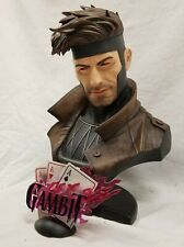 SIDESHOW EXCLUSIVE GAMBIT LEGENDARY Scale Bust STATUE X-MEN Rogue PREMIUM FORMAT