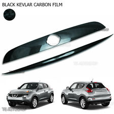 Black Carbon Tailgate Line Accent Cover For Nissan Juke Hatchback 2012 - 2015