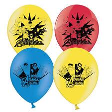 6 x Marvel Avengers Assemble Birthday Balloons Hulk Thor Captain America Iron M