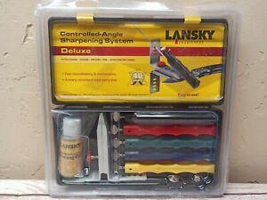 Lansky LKCLX Deluxe 5-Stone Sharpening System - Brand New !