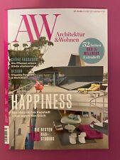 A&W Architektur und Wohnen Ausg. 3/2021 .. Happiness ..  NEU!!!!