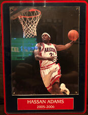 Hassan Adams - Arizona Wildcats New Jersey Nets Framed 8x10