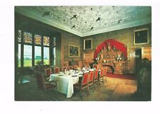 Postcard Charlecote Park Warwickshire The Dining Room PM 1977  (A20)
