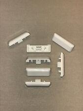 Wasserschlitzkappen 50 Stk für PVC-Fenster Silisto Standard Farbe weiß