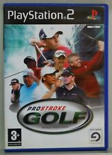 PROSTROKE GOLF  - PLAYSTATION 2 - PAL ESPAÑA - COMPLETO