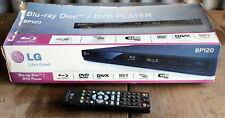 LG BLU-RAY DISC / DVD PLAYER MODEL BP120 NEW IN BOX (2ND HAND REMOTE)