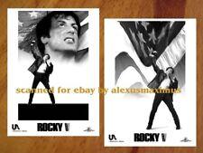 ROCKY V B&W Photo Set of 30 SYLVESTER STALLONE SAGE STALLONE Tommy Morrison 5