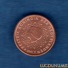 Pays Bas 2011 - 2 centimes d'Euro - Pièce neuve de rouleau - Netherlands