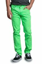 Victorious Men's Spandex Color Skinny Jeans Stretch Colored Pants   DL937-PART-2