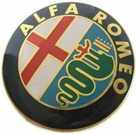 Emblema Alfa Romeo Autoadhesivo de 74mm Mito 147 156 159 166