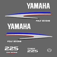 kit stickers YAMAHA 225 cv serie 2 - autocollant capot moteur hors-bord decals