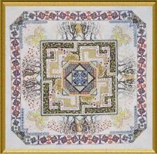 Celtic Garden Mandala CHATELAINE Cross Stitch CHART Pattern NEW