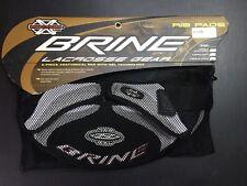 Brine X-Factor Lacrosse Rib Pads Black / Silver Large