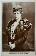H.M. Queen Alexandra who succeeded Victoria as Patron of the Institute, Tuck