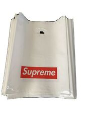 Supreme Plastic Poly Tote Bag Red Box Logo Small Shopping Bag Lot of 20 bags!