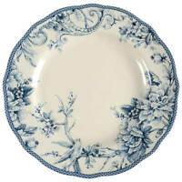 222 Fifth Adelaide Blue and White Dinner Plate 10520231
