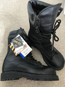 Matterhorn Corcoran Leather Combat Patrol Police Cadet Army Boots Black 4M