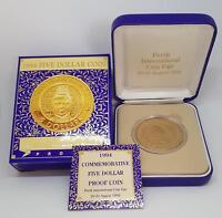 1994 Ltd Ed. #1159/2500 $5 PROOF COIN ENFRANCHISEMENT of WOMEN
