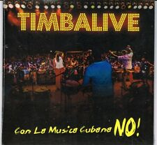 Timbalive Con La Musica Cubana No    BRAND NEW SEALED  CD