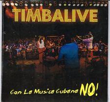 Timbalive Con La Musica Cubana No    BRAND NEW SEALED  CD