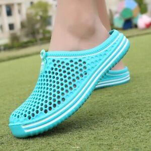 Women's Sandals Summer Hollow Out Breathable Mens Beach Flip Flops EVA Slippers