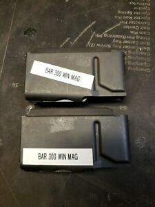 2 Browning bar magazine 300 win mag